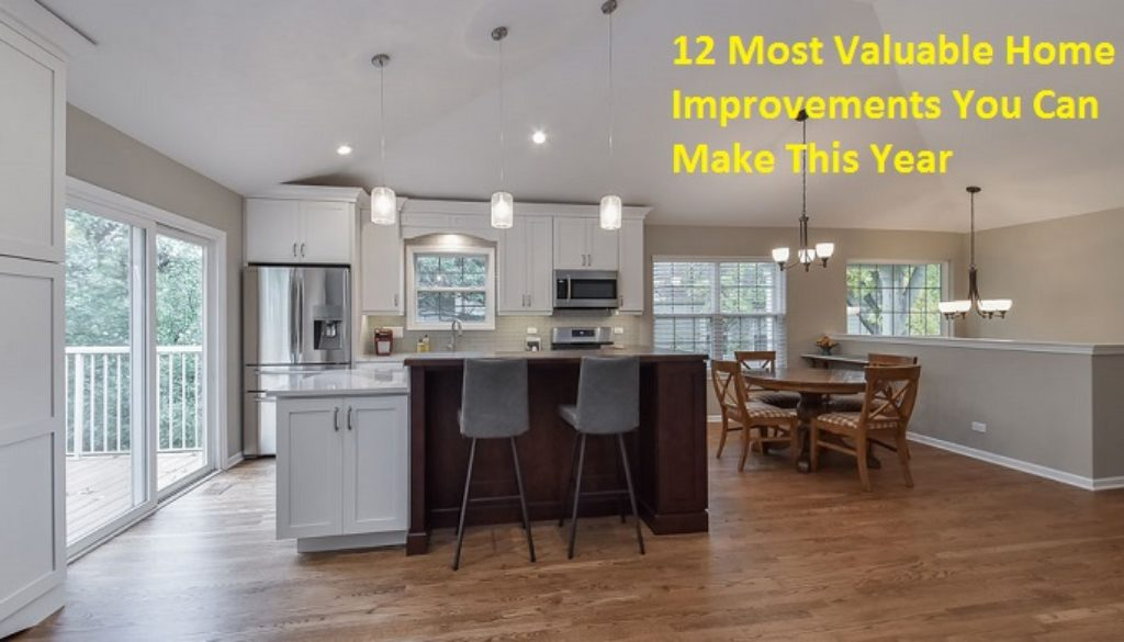 Most Valuable Home Improvements